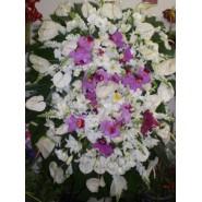 Coroa de Condolências com flores nobres II